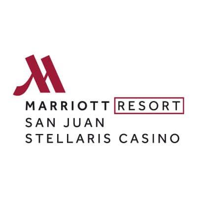 Kasino San Juan Marriott Resort & Stellaris yang berbasis di daratan.